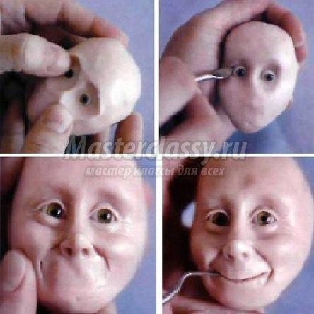 делаем куклу из термопластика