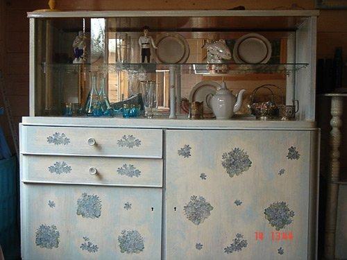 Декупаж для кухонной мебели видео