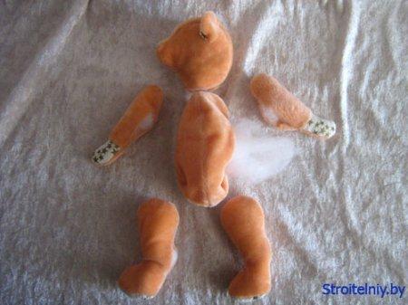 Как сшить медведя своими руками: выкройка для игрушки-Тедди