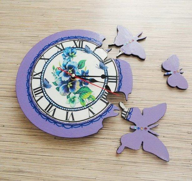 Часы на стекле своими руками