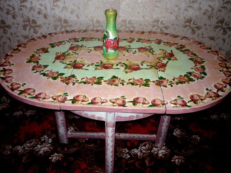 Декорирование обеденного стола своими руками