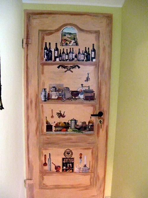 Декорирование старой двери своими руками фото 40