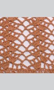 Пляжное платье крючком схема узора