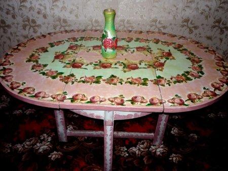 Узор для круглого обеденного стола