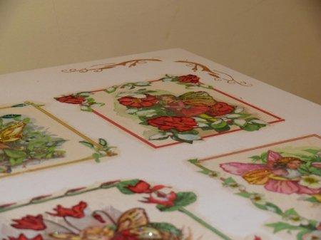 Раскладываем рисунок на столике