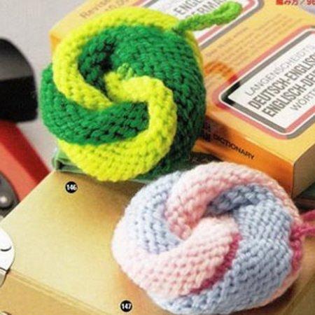 и для вязания мочалок