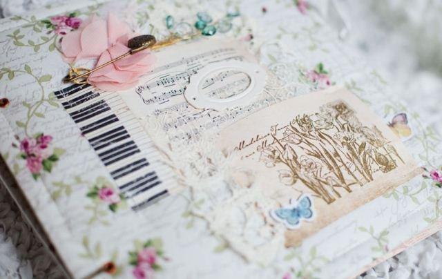 Скрапбукинг мастер-класс свадебный фотоальбом