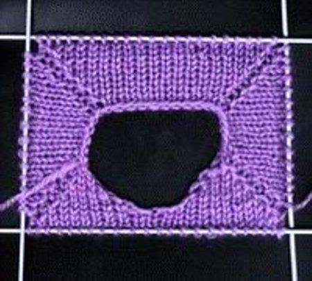 Замыкаем вязание в круг