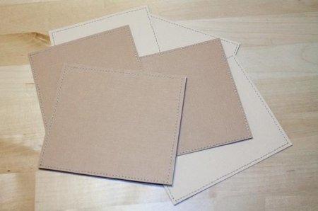 вырезаем квадратные заготовки