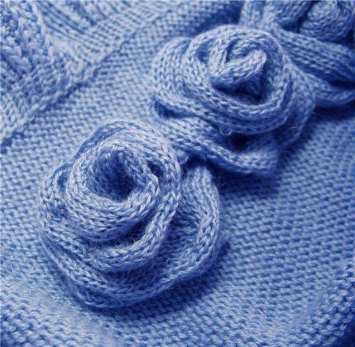 Синий букет