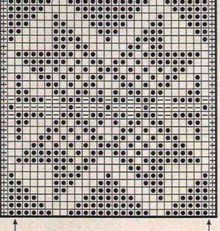 Звезда. Схема вязания