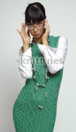 Зеленый фасон