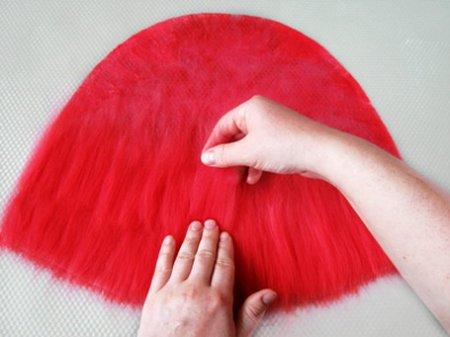 Валяние шапочки для бани из шерсти, пошаговый мастер-класс с фото