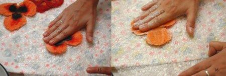 Красивые броши из шерсти своими руками - пошаговые МК с фото