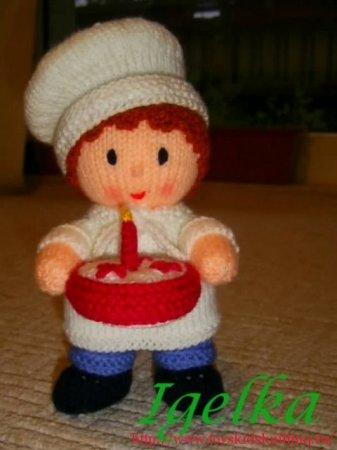 Кукла-поваренок