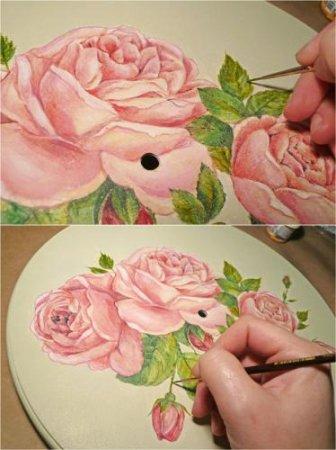 Прорисовываем детали картинки