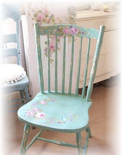 Декупаж стульев для начинающих пошагово 80