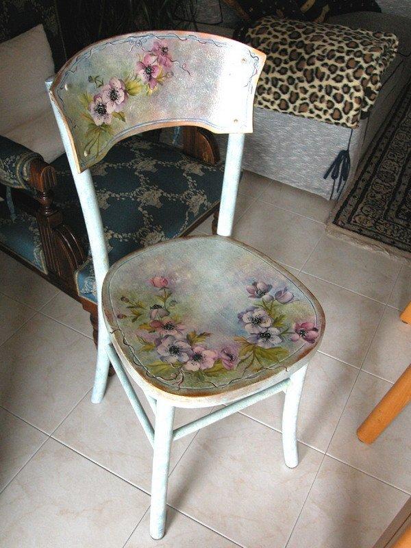 Обновить стулья своими руками фото