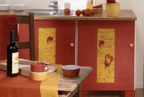 Кухня декупаж своими