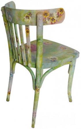 Декор стула в венском стиле