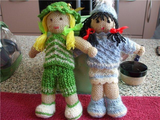 Связанные куклы своими руками