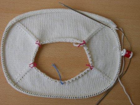 Начало вязания