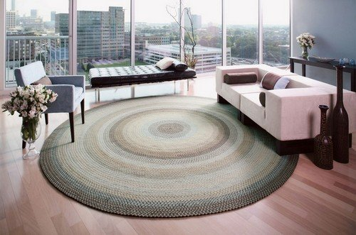 Плетеные коврики из косичек своими руками: мастер класс и примеры работ