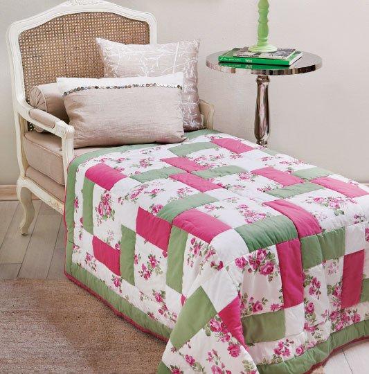 Одеяла в стиле пэчворк