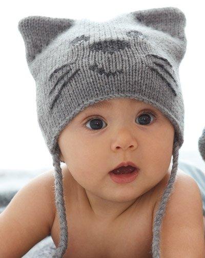 Зимняя шапочка для девочки спицами: схемы с инструкциями