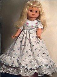 Как сшить кукле платье с рюшами