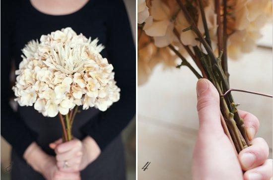 Букет из цветов своими руками пошагово фото