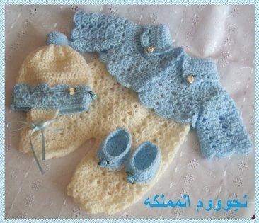 Вязание костюмчиков для новорожденных девочек с описанием