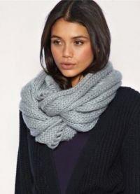 Как завязать шарф на шее: 10 способов и вариантов на любой вкус