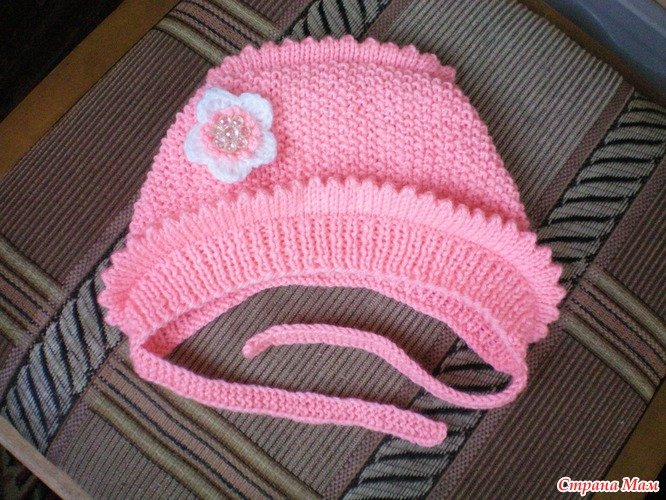 Кофточки-реглан и шапочка спицами