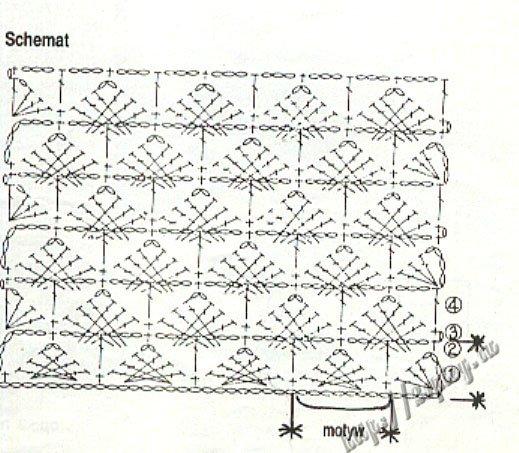 1 ст. без н. - 1 ст. с н. Кофточка шапочка пинетки на 2-3... Вязание спицами и крючком: модели схемы узоры журналы
