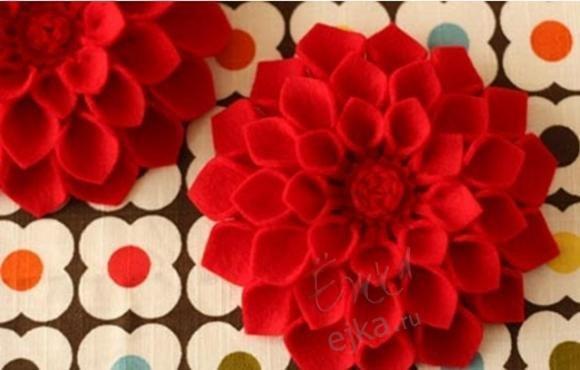 Цветы из ткани своими руками: мастер класс с фото и видео
