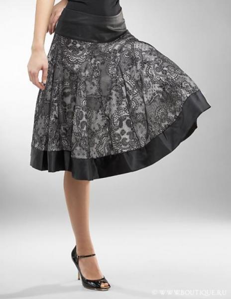 Как сделать выкройку простой юбки