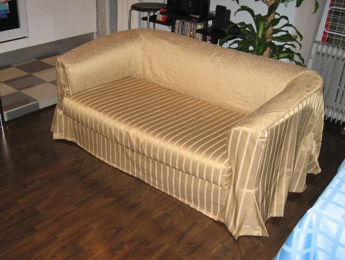Как сшить чехол на диван и кресло своими руками фото 414