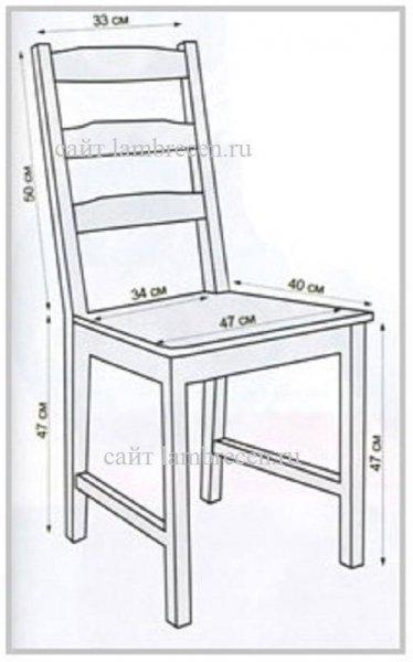 Как сшить чехол на стул Полезные советы хозяюшкам