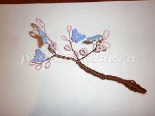 Дерево из бисера своими руками: мастер класс и схемы с фото и видео