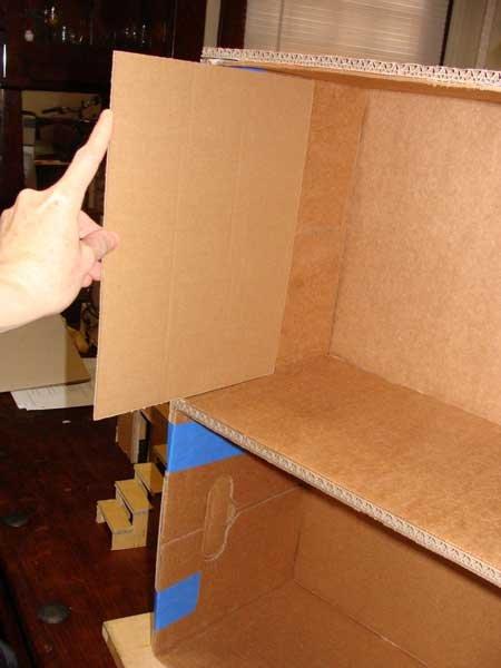 Домик из картона своими руками: схемы кукольного домика и домика для кошек