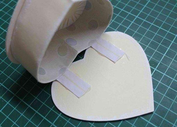 Как сделать шкатулку для подарка из картона