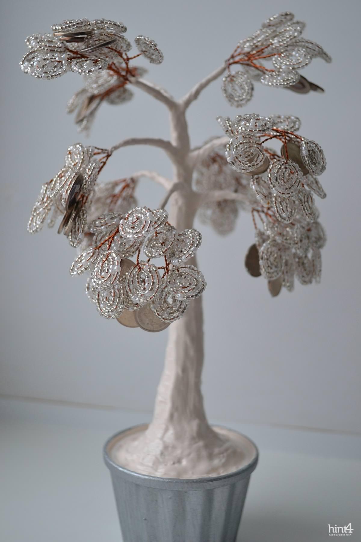 денежное дерево из копеек своими руками схема