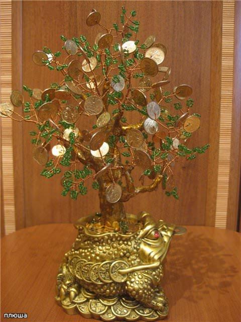 Денежное дерево своими руками из бисера: мастер класс и схема плетения