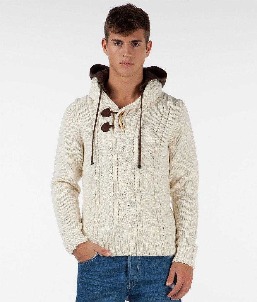 Вязание спицами свитер мужского 149