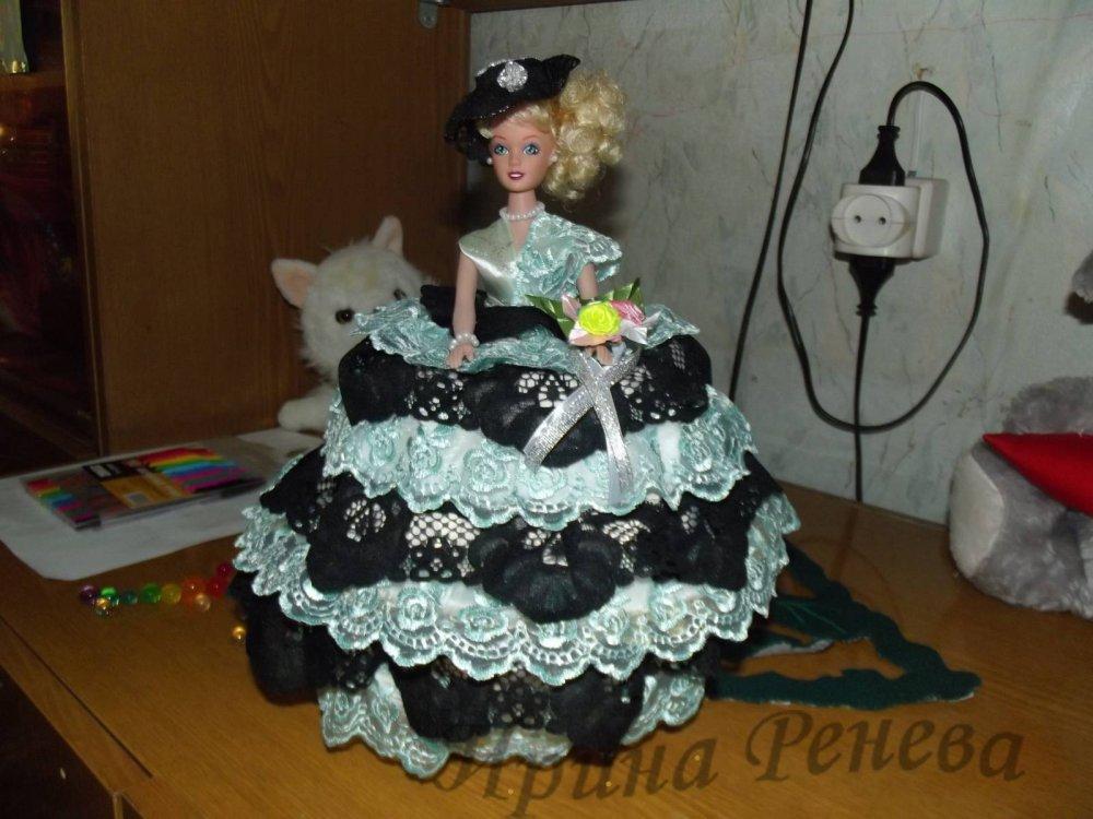 Шкатулки из кукол мастер класс подробно #7