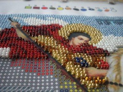 Вышивка бисером именных икон: мир вышивки, новая слобода и кроше