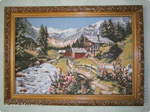Галерея картины вышивка крестом