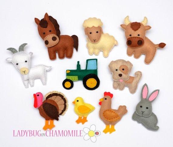 Схемы игрушки из фетра своими руками