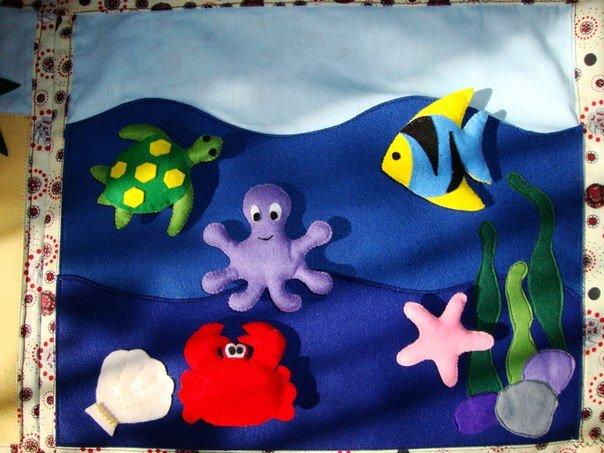 Сшить развивающие коврики для ребенка 336